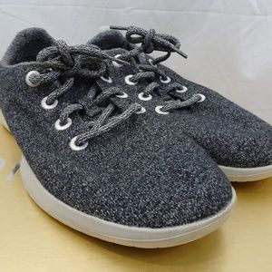 Allbirds Wool Runners Lace Up Grey Comfort WR W10